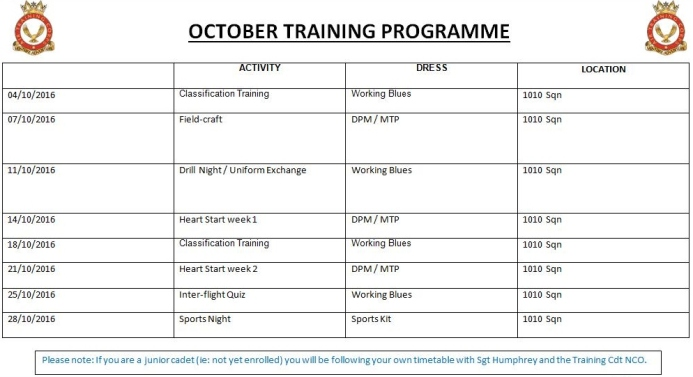 october-training-programme